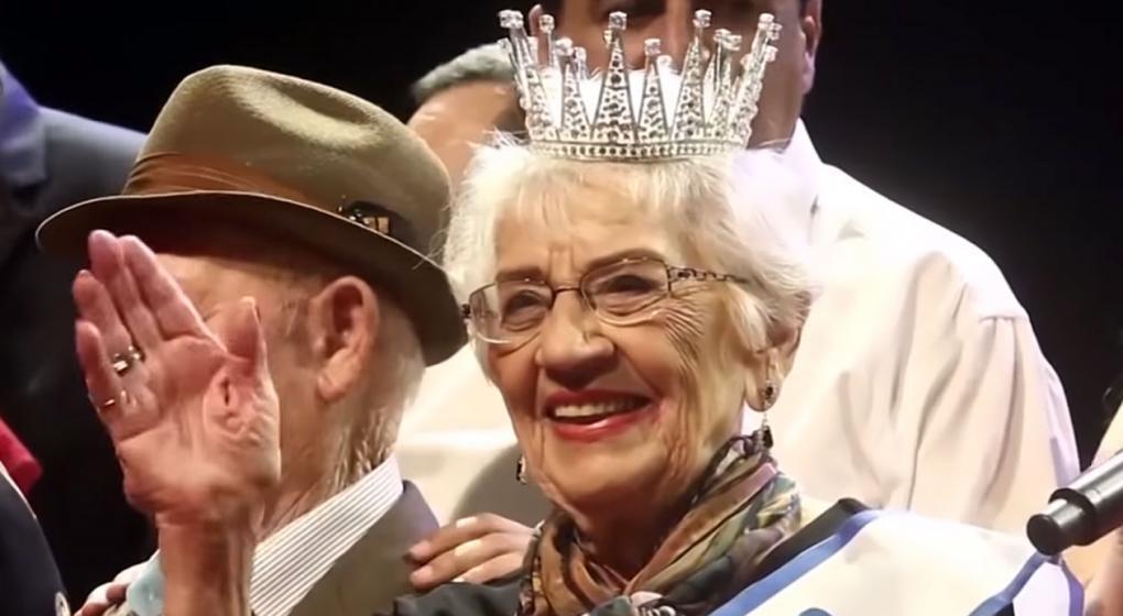 """Sobreviviente de 93 años ganó el polémico concurso de belleza """"Miss Holocausto"""""""