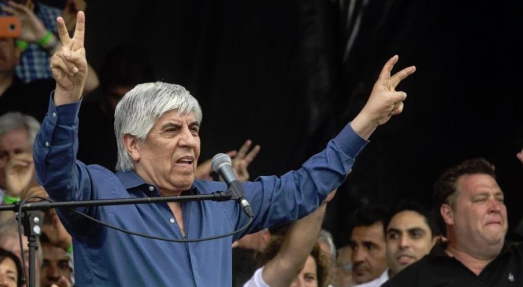 Hugo Moyano: Si no hay otro candidato en el peronismo, tendrá que ser Cristina