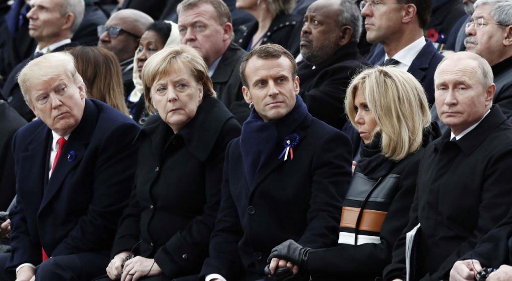 Macron dijo que están resurgiendo los viejos demonios de la guerra