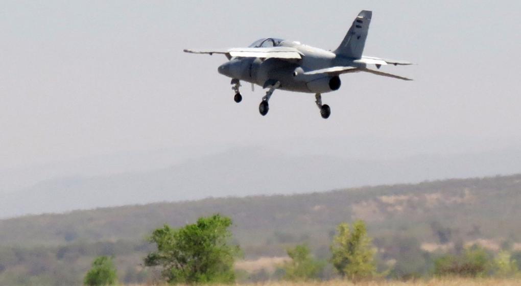 Fadea probó uno de los aviones Pampa III que entregará a fin de año