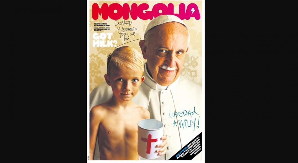 Polémica tapa de una revista española contra el papa Francisco