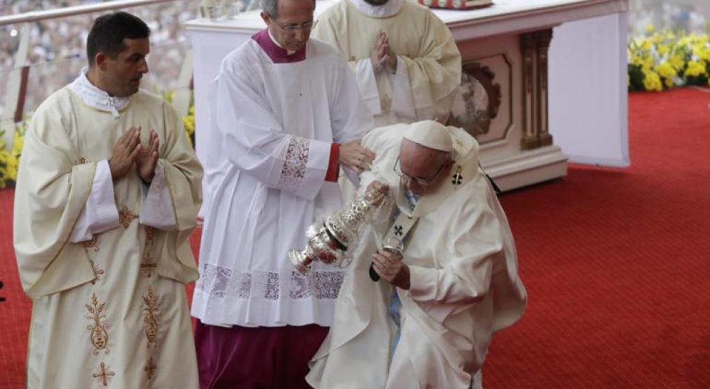 El papa Francisco y una nueva caída en el Vaticano