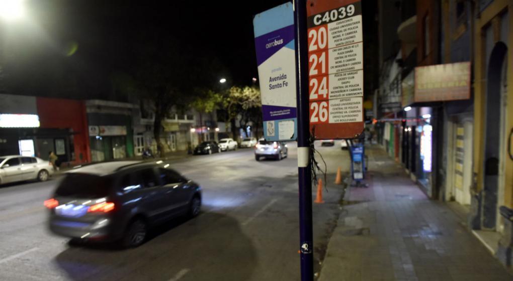 Domingo a la noche: otra vez sin transporte urbano en Córdoba