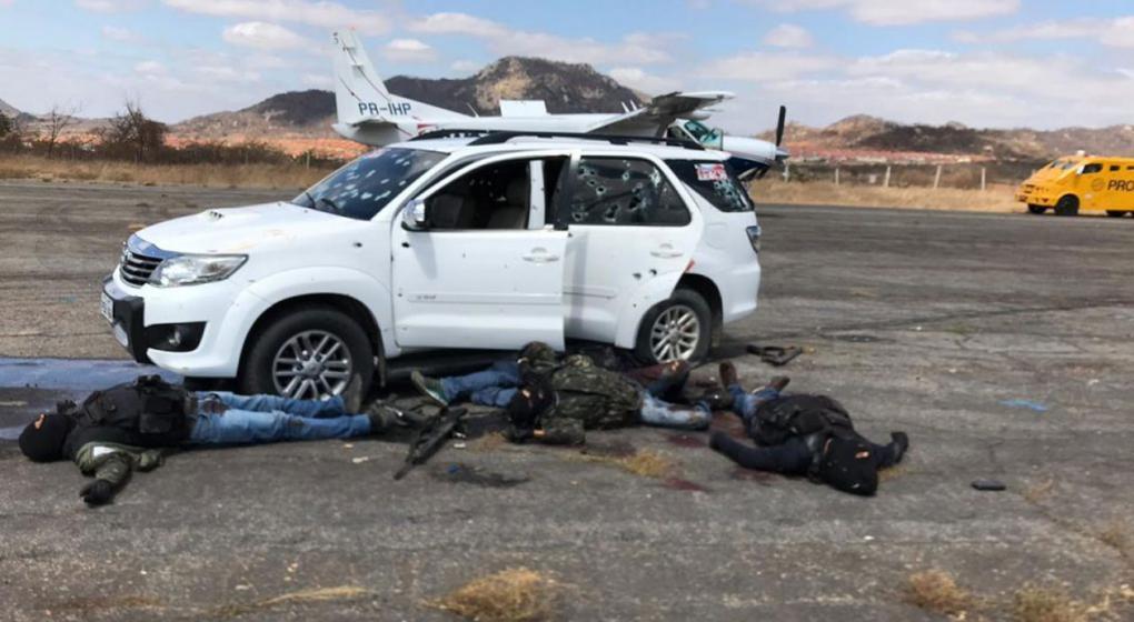 Cinco asaltantes muertos en intento de robo a un avión de caudales en aeropuerto brasileño