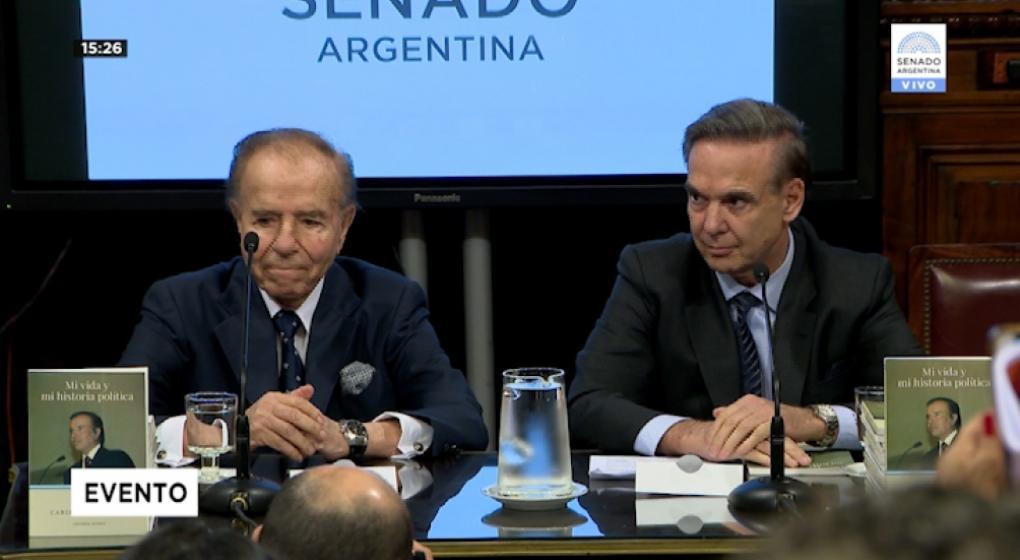 """Después del apoyo de Menem, Pichetto dijo que le gustaría """"ser presidente"""""""