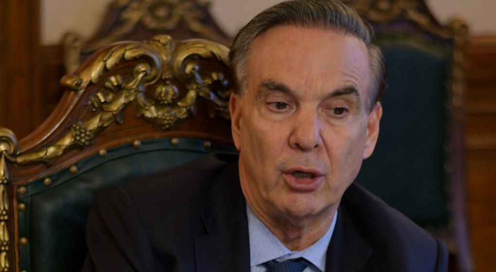Pichetto lanzó su candidatura por la presidencia en 2019