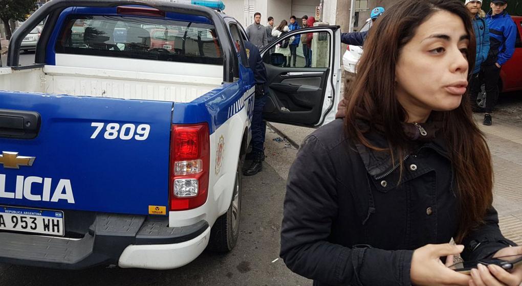 Video: así fue el momento en que mujer policía de civil atrapó a un ladrón