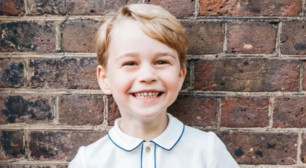 El príncipe Jorge cumple cinco años: la foto oficial del festejo