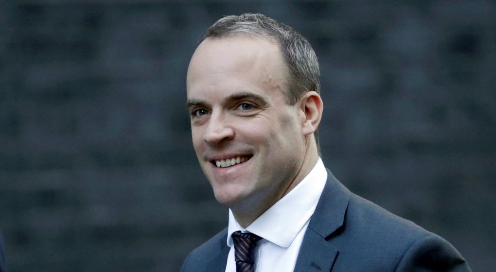 """Renunció el ministro británico para el """"Brexit"""", Dominic Raab"""