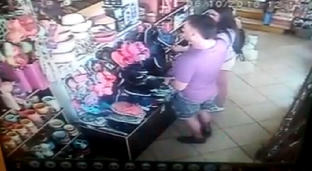 En video: robaron, los filmaron y quedaron detenidos en Mina Clavero