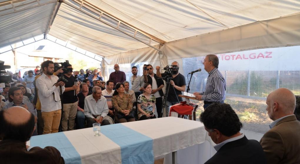 Schiaretti homenajeó a De la Sota en Cura Brochero