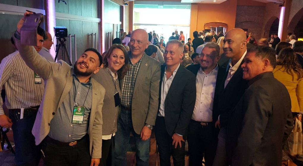 Referentes del socialismo de todo el país se reunieron en Carlos Paz