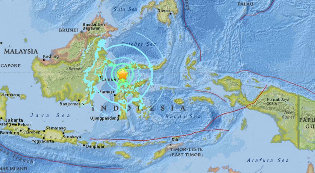 Tras el de 6,1, otro sismo sacudió una isla de Indonesia: ahora fue de 7,5