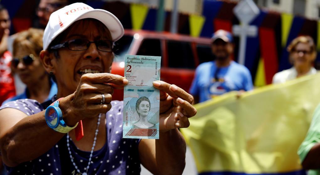 Según el FMI, Venezuela tendrá 1,37 millones por ciento de inflación