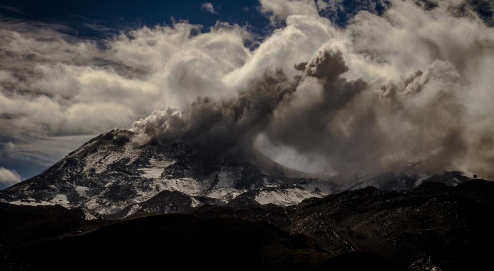 Alerta en Chile por actividad en un complejo volcánico