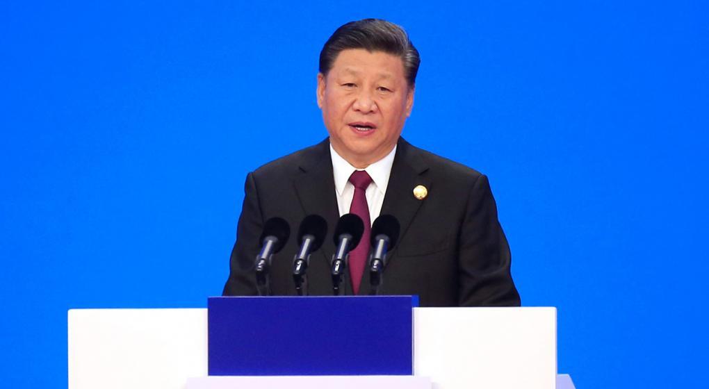 El presidente de China prometió avanzar en la apertura de los mercados de su país