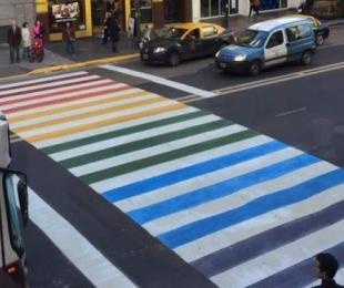 "Pintarán la ""Senda de la Diversidad"" en La Plata"