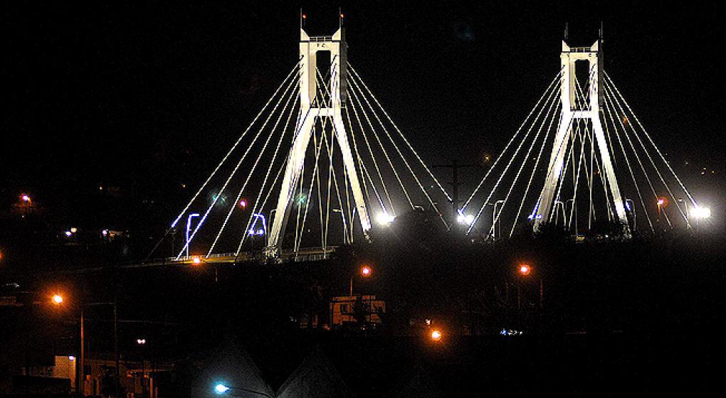 Corte de cintas en el Puente del Bicentenario en Río Cuarto ...