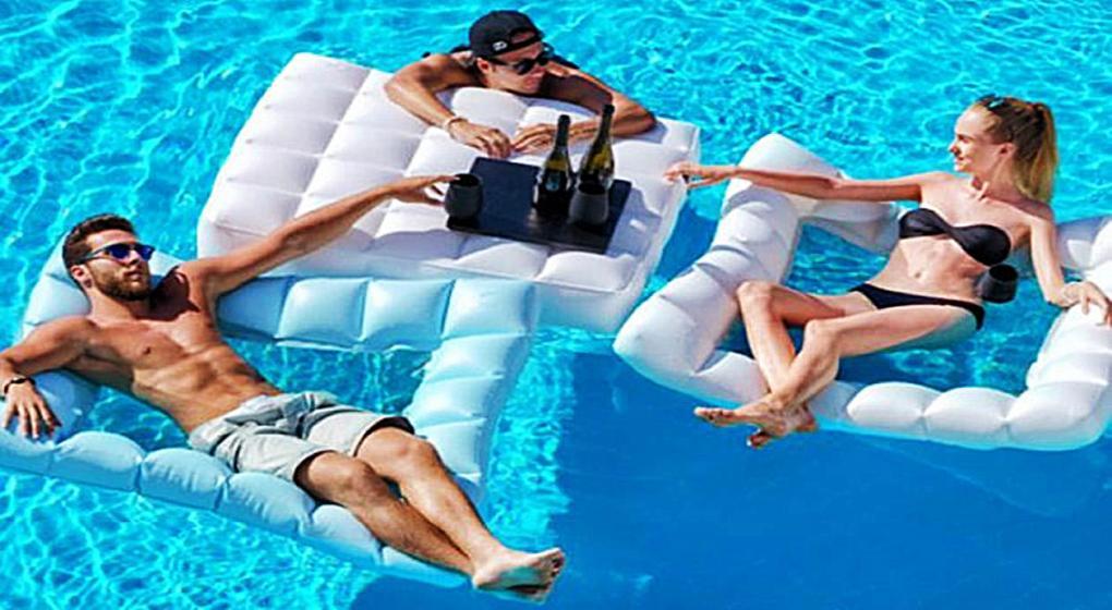 Nueva tendencia en muebles inflables y modulares para tu piscina ...