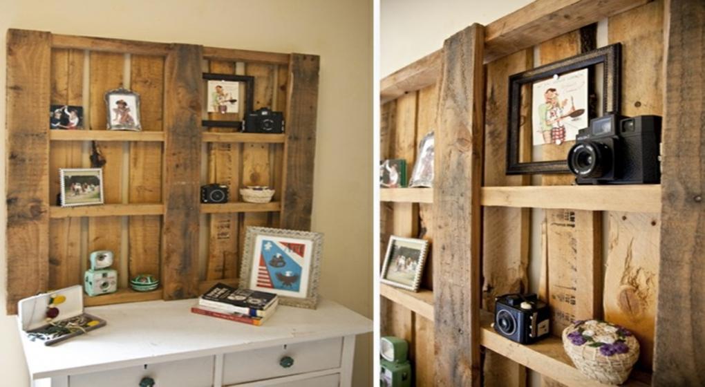 10 ideas para armar tus muebles con tarimas de madera for Muebles para tv con tarimas