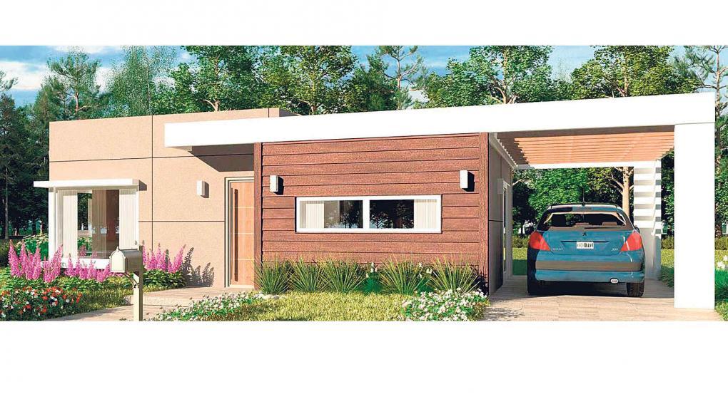 Sistema de construcción mixto: ladrillo, madera y paneles | Noticias ...