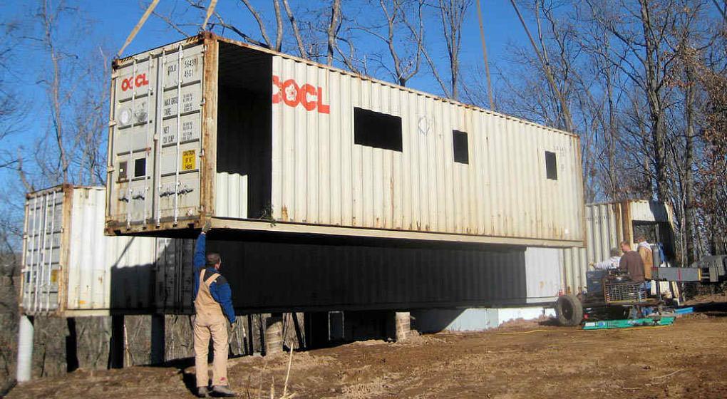 Construir con contenedores mar timos noticias al instante desde la voz - Como hacer una casa con contenedores maritimos ...