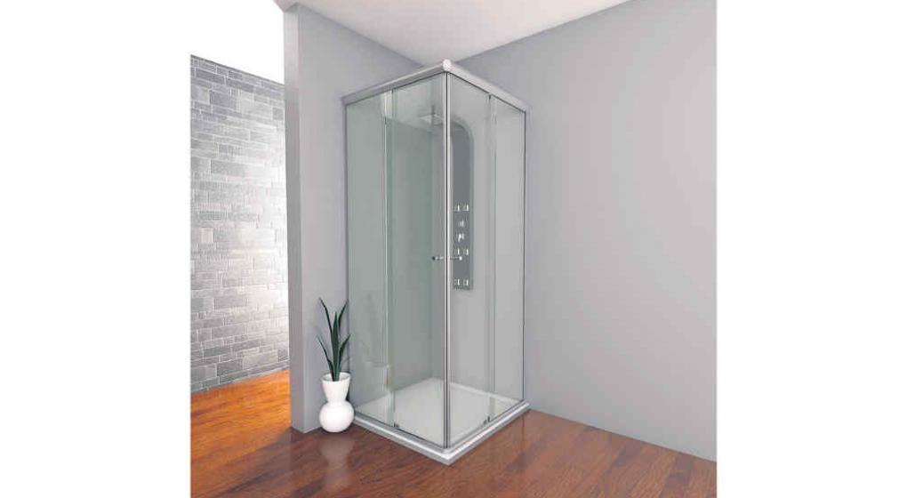 Limpiar mampara ducha cristal templado cool limpiar mampara bano muy sucia cheap elegant ducha - Limpiar mampara ...