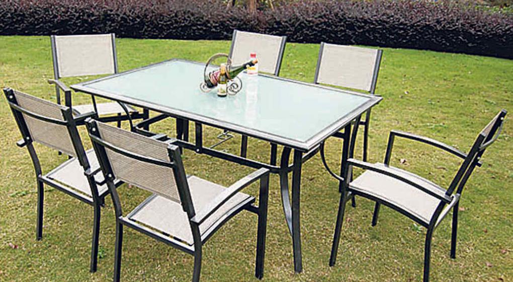 Mueble Para Jardin. Perfect Conjunto Para Jardn De Madera De Teka ...