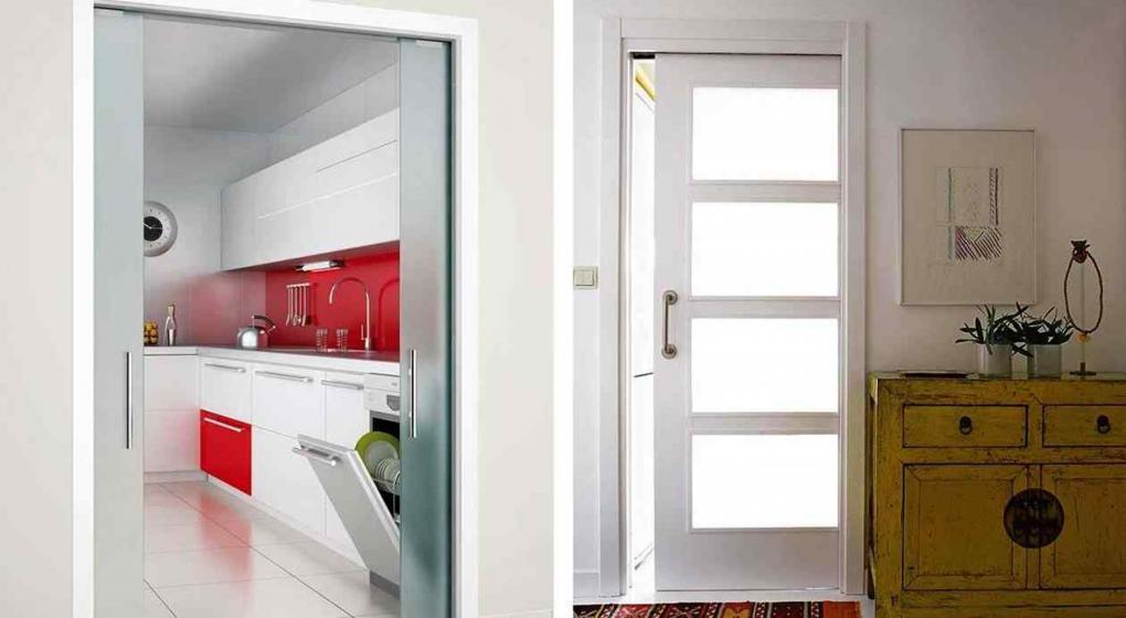Ten s espacios reducidos las puertas corredizas pueden for Puertas para espacios reducidos