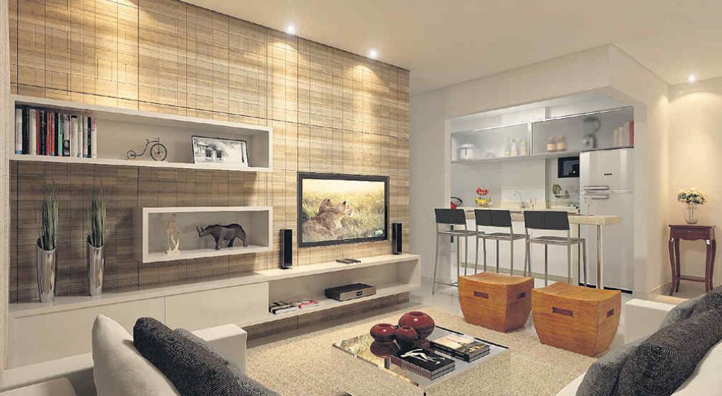 Salas de tv organizada y con estilo noticias al for Diseno de interiores de salas y comedores pequenos