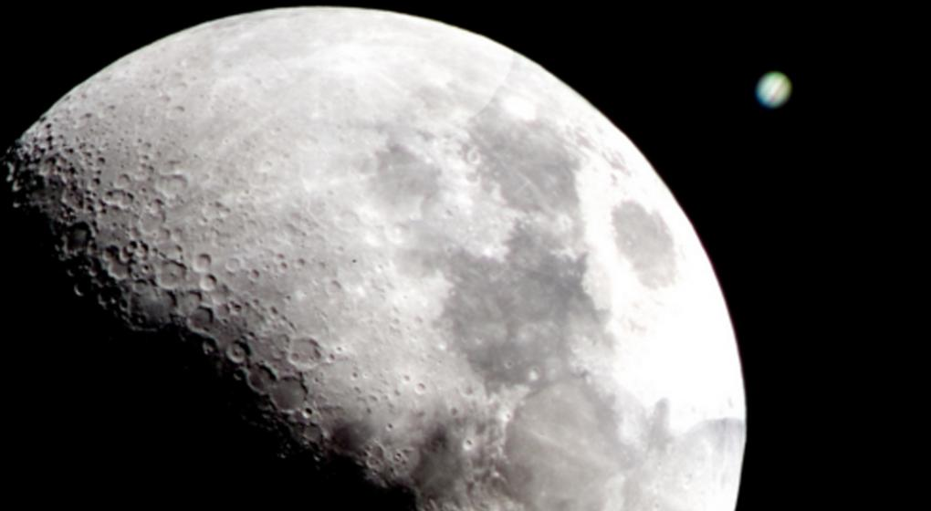 La impactante conjunci n astron mica entre j piter y la for Que luna estamos ahora
