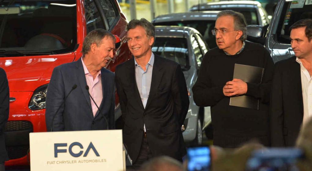 Resultado de imagen para Macri recibió a Sergio Marchionne,