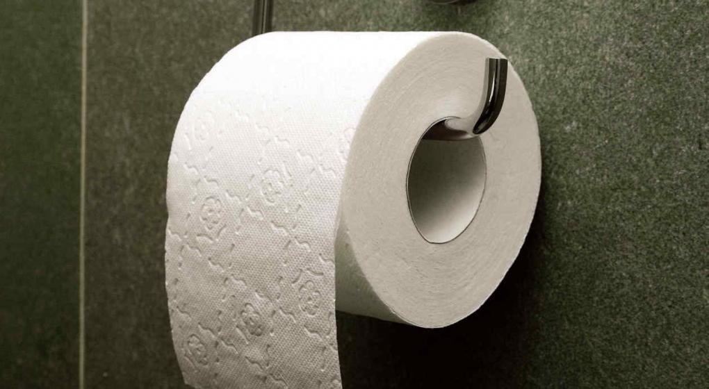Chau pol mica as se cuelga el rollo de papel higi nico for Accesorio para papel higienico