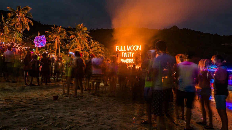 Full Moon Party La Fiesta Que No Te Podes Perder En Tailandia