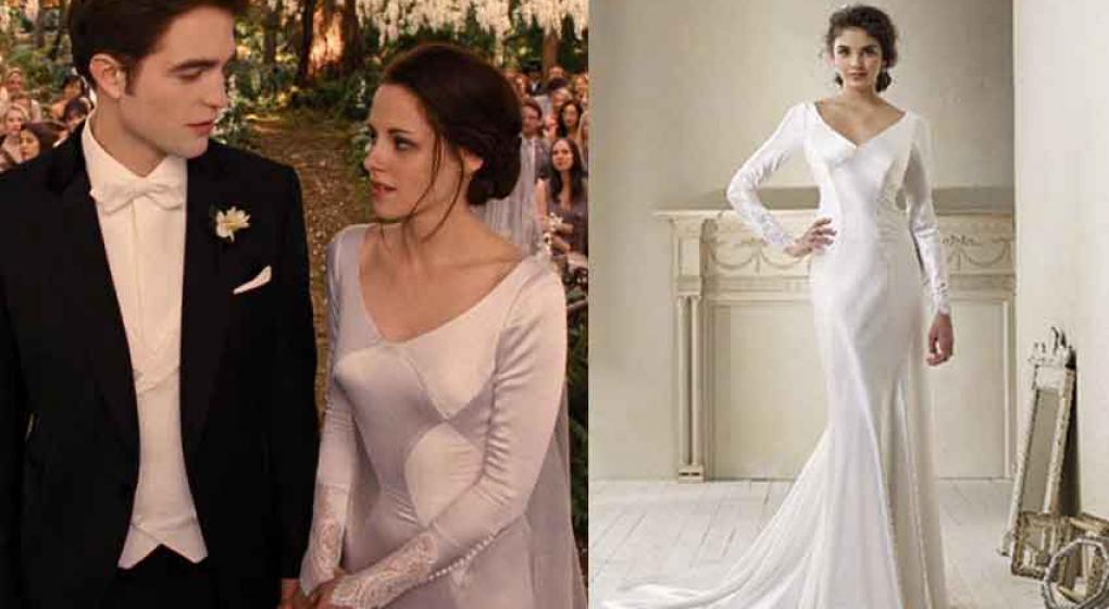 El vestido de novia de Bella Swan en \