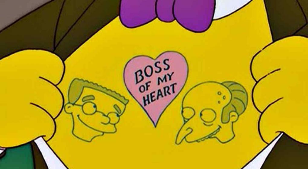 Resultado de imagen de personajes simpsons smithers love burns